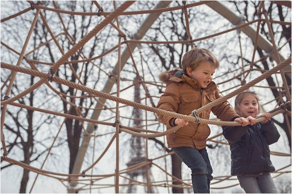 Photographe Famille Enfants - Aller-retour pour Paris